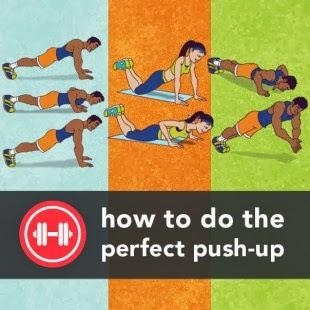 Cara push up yang benar