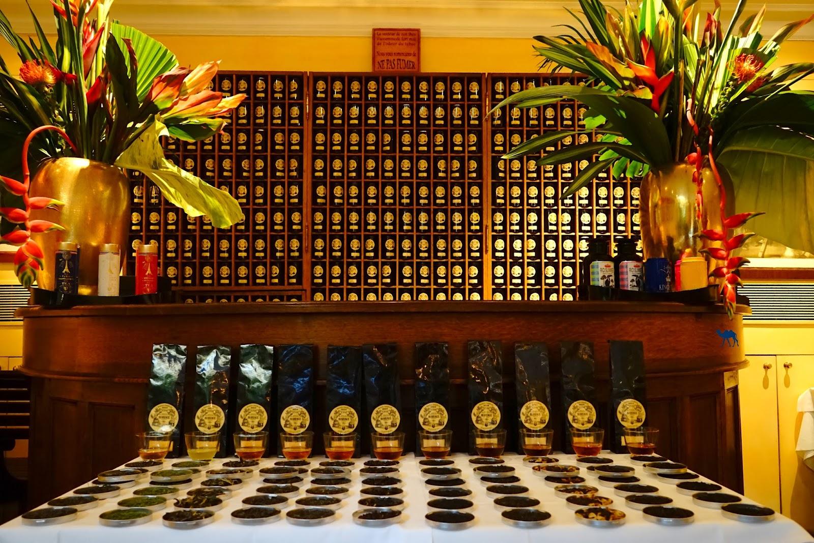 Le Chameau Bleu - Bar à thé - Salon de thé Mariage Frères Paris