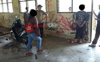 Di Gedung Bekas Satpol PP Temukan Pasangan Remaja Diduga Mesum