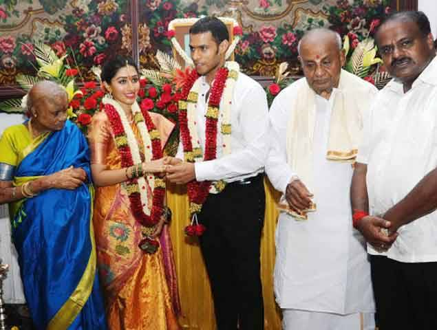 Nikhil engagement with Swathi