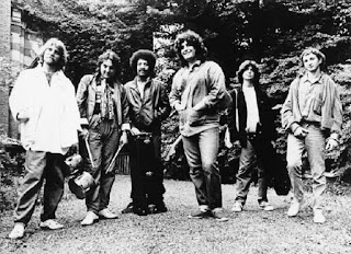 First band of Pino Daniele from left Toni Esposito,Tullio De Piscopo,James Senese,Pino,Joe Amoruso & Rino Zurzolo