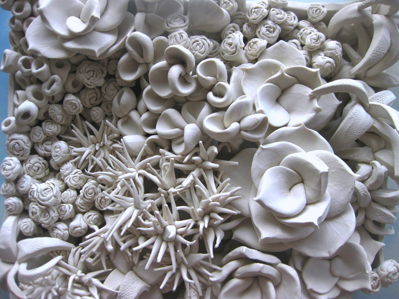 Let S Keep It Wild Botanical Sculpture Tiles