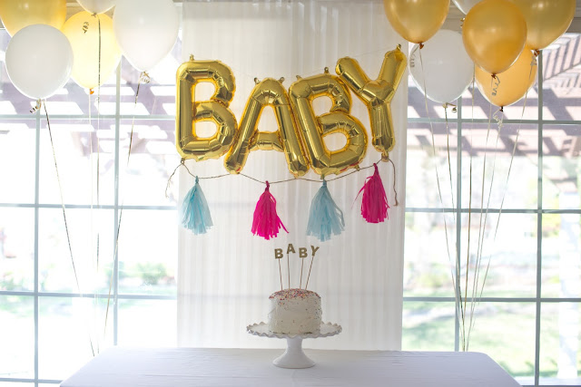 Domestic Fashionista Baby Boy Gender Reveal Party