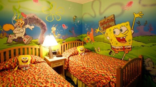 Kamar Hotel Spongebob