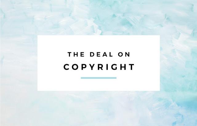 The Deal on Copyright // Eliza Ellis
