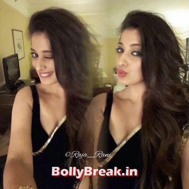 Selfie, raai laxmi, lakshmi rai, black saree, saree, black, south indian, telugu, indian bollywood,