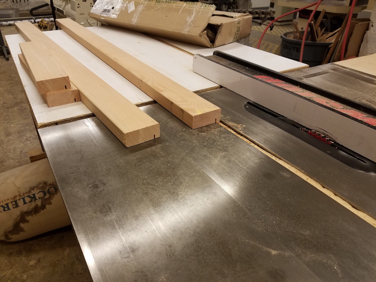 How To Taper 4×4 Table Legs