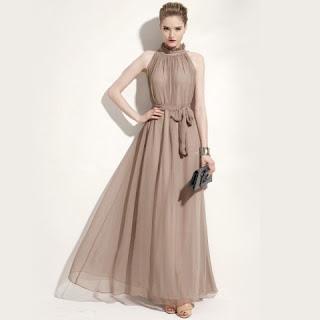 Model Long Dress Terbaru