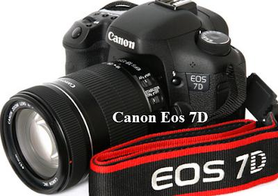 Spesifikasi dan Harga Kamera Canon Eos 7D