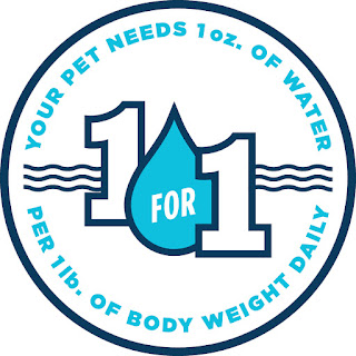 Dogs should drink an ounce of water for each pound they weigh.
