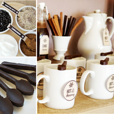 Hot Cocoa Bar Ideas for Winter Parties