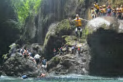 Body Rafting di Green Canyong Pangandaraan