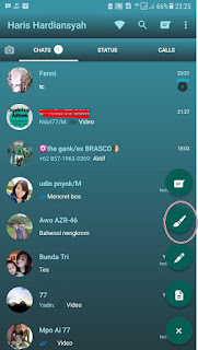Cara Terbaru Mengganti Tema dan tampilan Whatsapp di Android dengan Mudah Tanpa ROOT