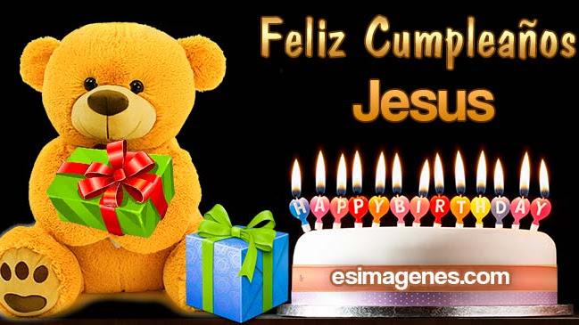 Feliz cumpleaños Jesus