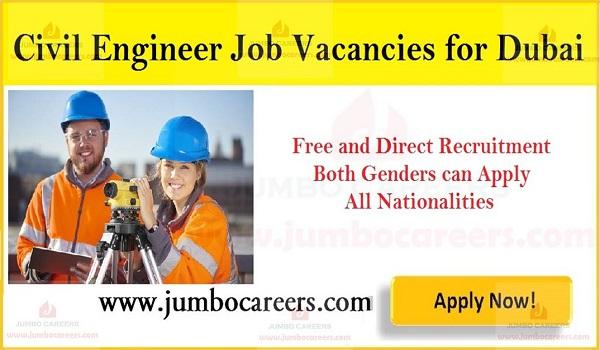 Available job vacancies in UAE, Current Dubai job openings,