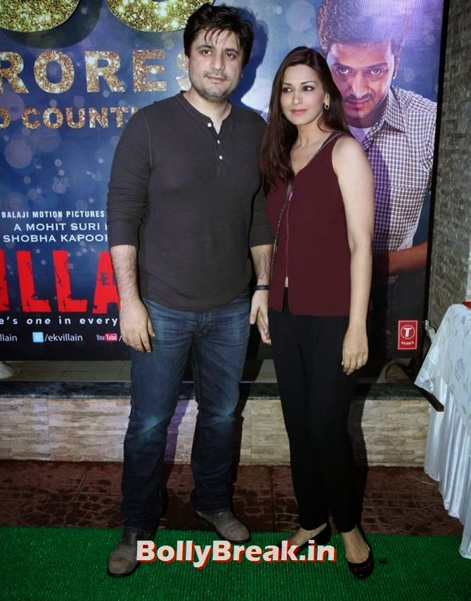 Goldie Behl and Sonali Bendre, Alia, Sonakshi, Shraddha party with Ek Villain team