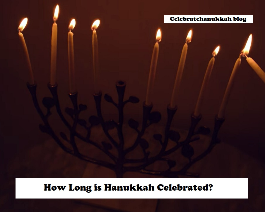 Hanukkah is celebrated around the world for eight days and nights Hanukkah celebrates the victory of the Maccabees or Israelites over the GreekSyrian ruler