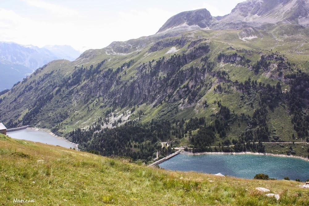 Barrage plan d'aval, d'amont Savoie