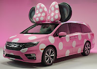 Nuova Honda Minnie Van in occasione di Disney D23 Expo in California