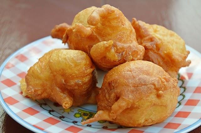 beignets de topinambours, un goût d'artichaut