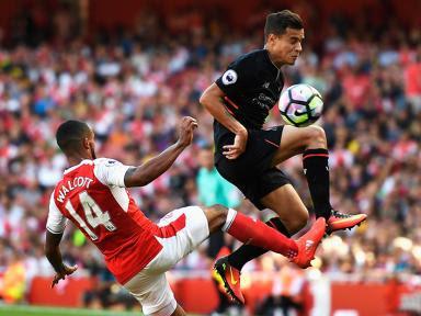 Liverpool gana 3 a 1 al Arsenal