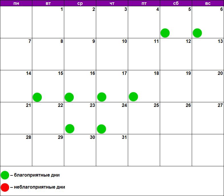 Лунный календарь массажа январь 2019
