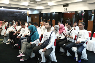 Keseruan Deklarasi Warga Net (Netizen) MPR-RI 2018 #Day2 Catatan Evhy