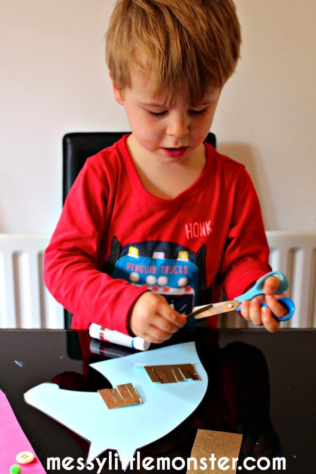scissor skills horse craft