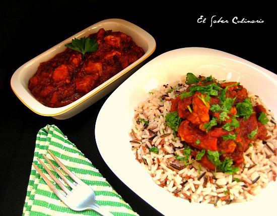 solomillo-agridulce-judias-rojas-arroz-salvaje-receta-facil