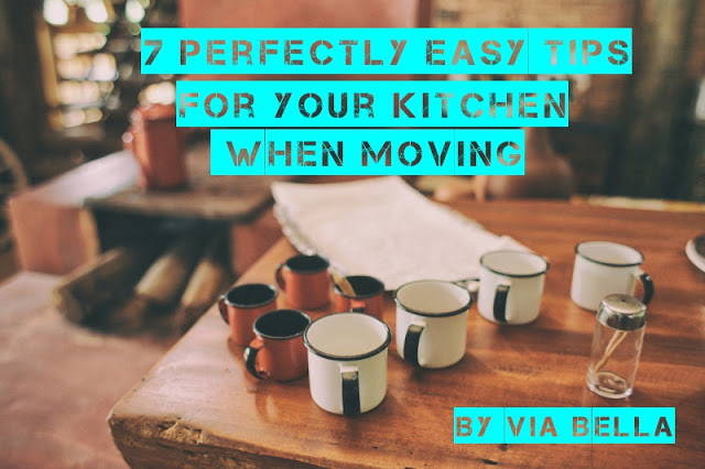 7 Perfectly Easy Tips For Your Kitchen When Moving, Via Bella, Housing Market, Washington DC, Real Estate, Kitchen, Moving, Packing and Moving, Easy Tips, Save Money, Declutter, Move,