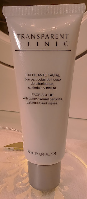 Exfoliante facial de Transparent clinic
