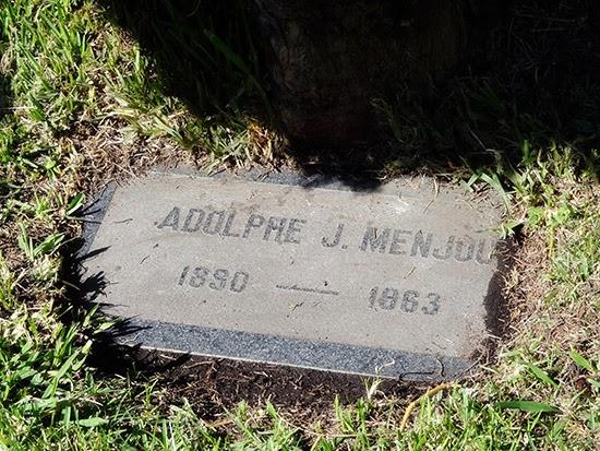 Hollywood Forever Cemetery Adolphe Menjou