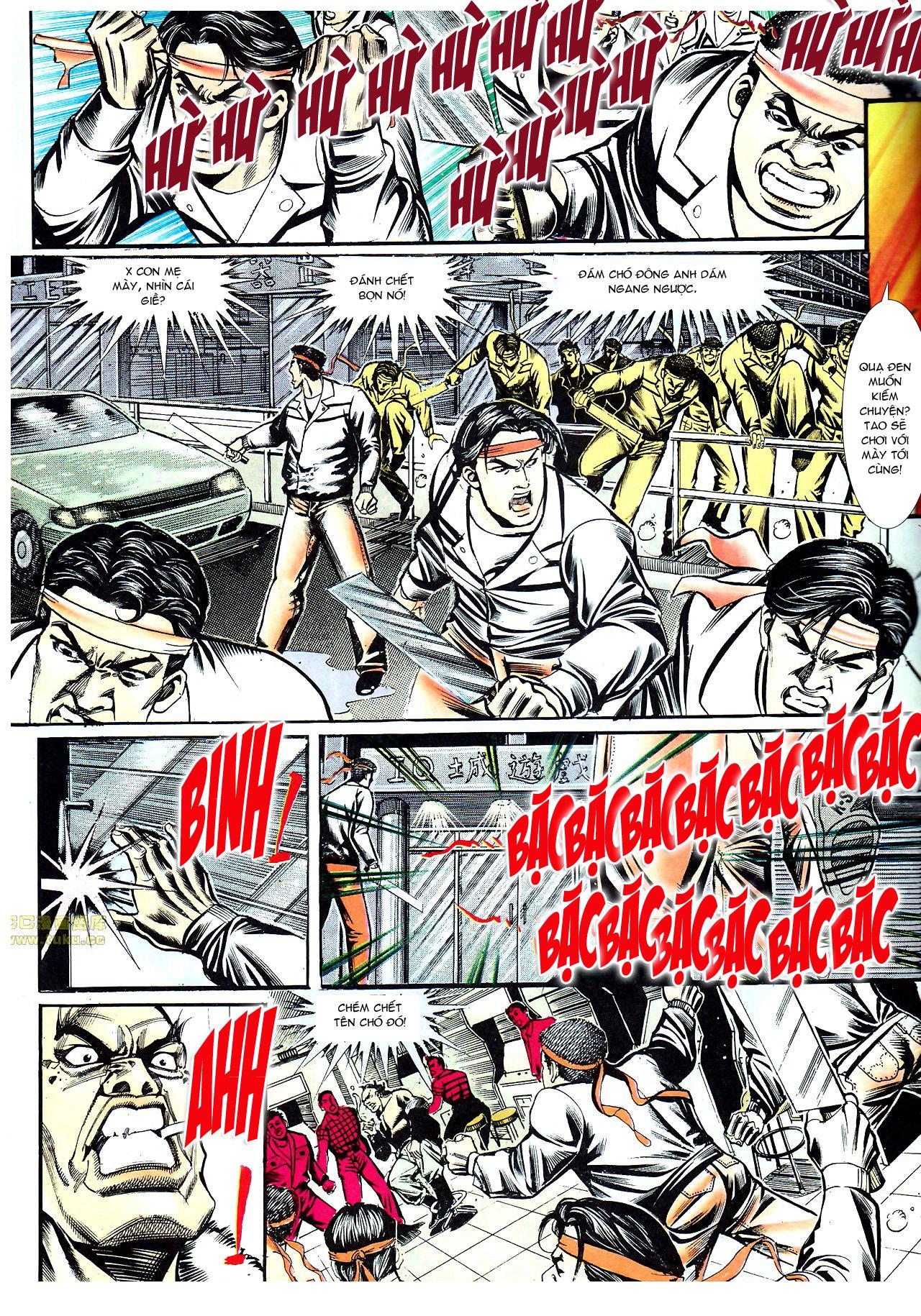 Người Trong Giang Hồ chapter 154: nam đẹp trai trang 16