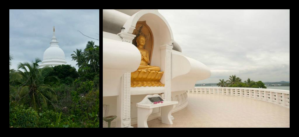 Pagoda de la Paz en Sri Lanka