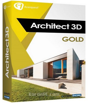Avanquest architect 3d gold 2017 19 0 portable es for Architecte 3d avanquest