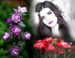 Gambar Bunga Dan Wanita Yang Penuh Arti