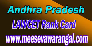 APLAWCET 2017 APPGLCET 2017 Rank Card Download