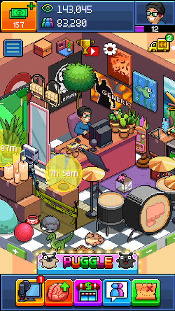 PewDiePie Tuber Simulator MOD APK Unlimited Money + Unlocked