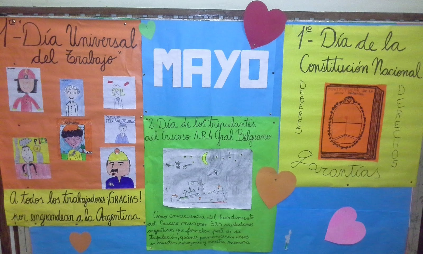 Escuela manuela pedraza escuela verde 2017 mayo 2016 for Carteleras escolares de reciclaje