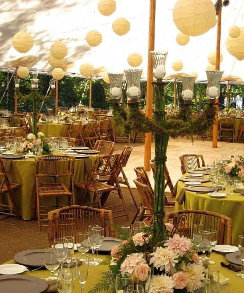 Outdoor Wedding Reception Ideas: Decorating Wedding Reception