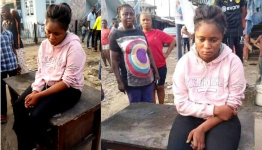 Beautiful Lady Loses Sanity After She Was Dropped By A Benz