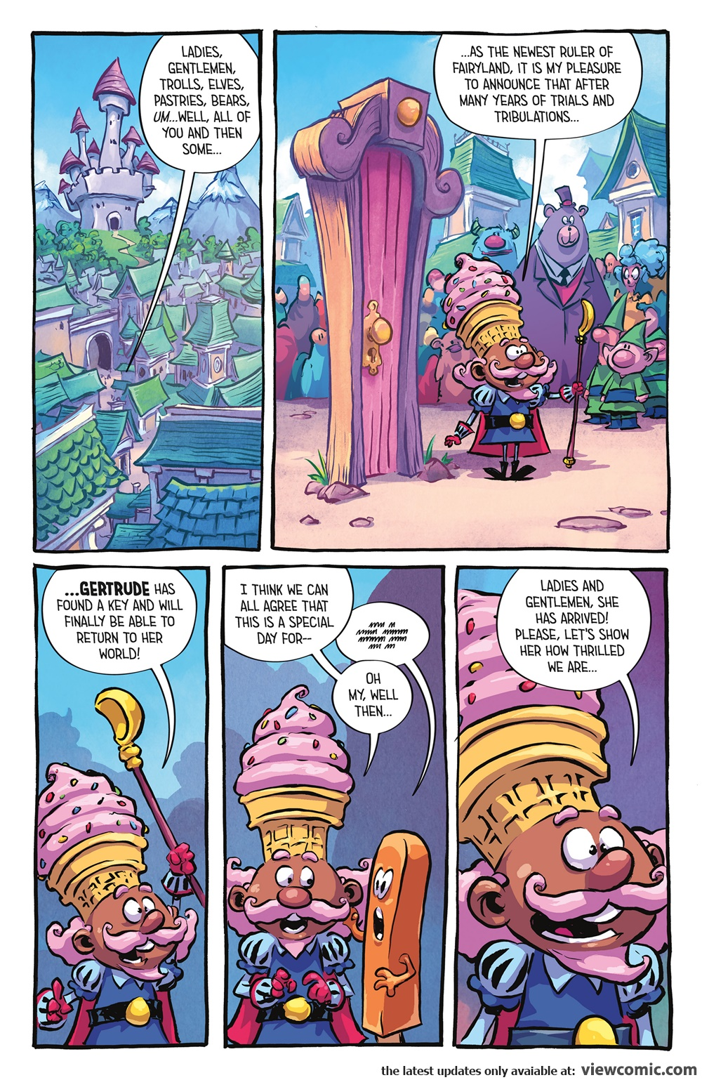 I Hate Fairyland 015 (2017)  | Vietcomic.net reading comics online for free