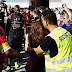 Fans rush to catch a glimpse as Mario Balotelli trains with his new club in France (photos