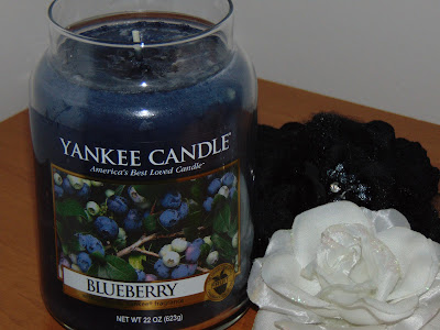 Świeca Yankee Candle Blueberry