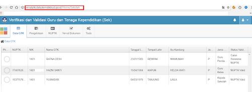 Geveducation:  Cara Upload File untuk Pengajuan NUPTK di vervalptk Terbaru