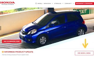 Cek Recall Honda Accord