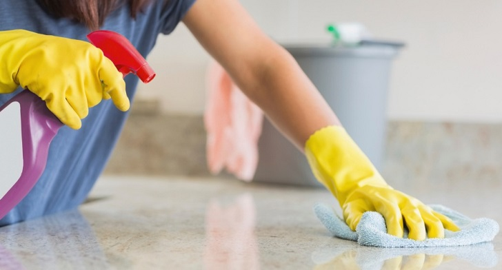 Guide to cleaning the kitchen or the cooking area