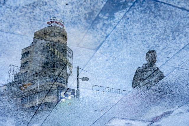 'Reflejo del Capitol' por Carlos Larios