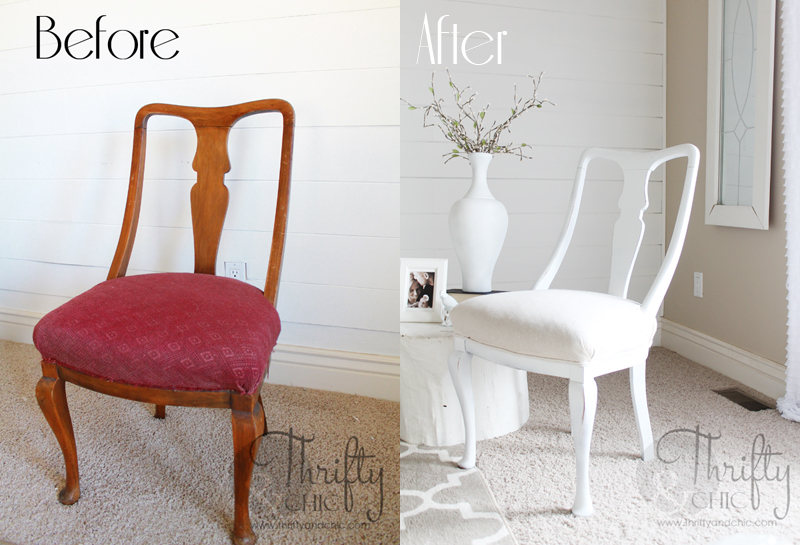 reupholstering a chair side chairs without arms thrifty and chic diy projects home decor reupholster