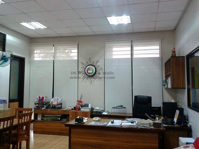 Window Roller Shade installed in Office of the School Administrator - Taguig City